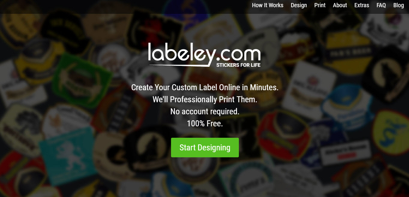 Labeley enables you to easily create designs for the Holiday season