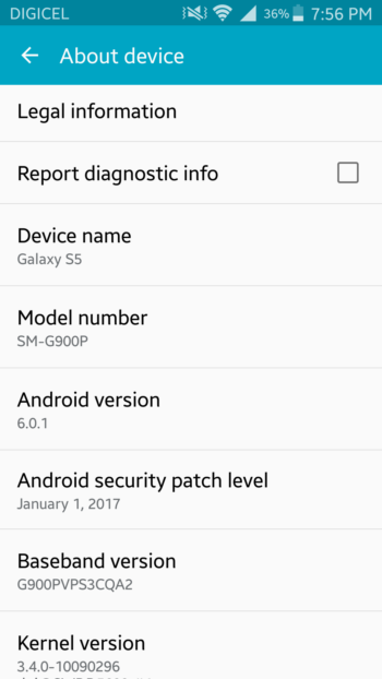 January security patch