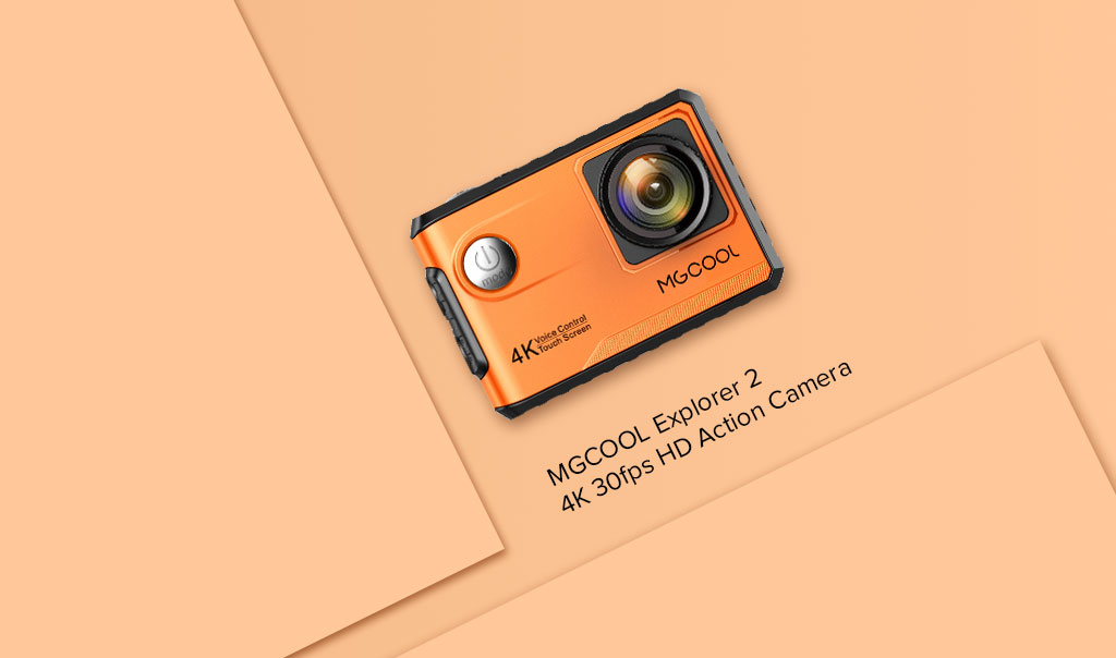 MGCOOL 4K 30fps HD action camera comparable to GoPro but cost less
