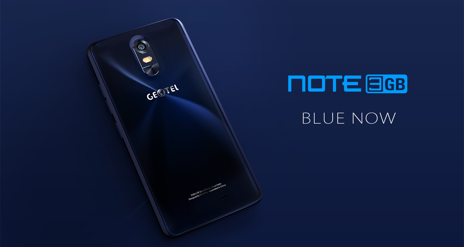GEOTEL Note - Blue