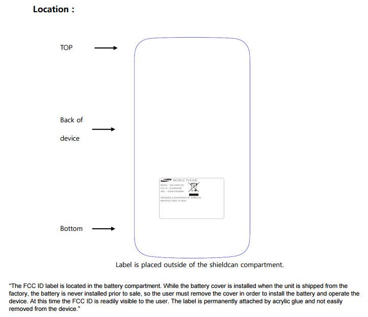 Samsung Z4 US FCC
