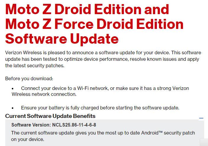 Verizon Moto Z