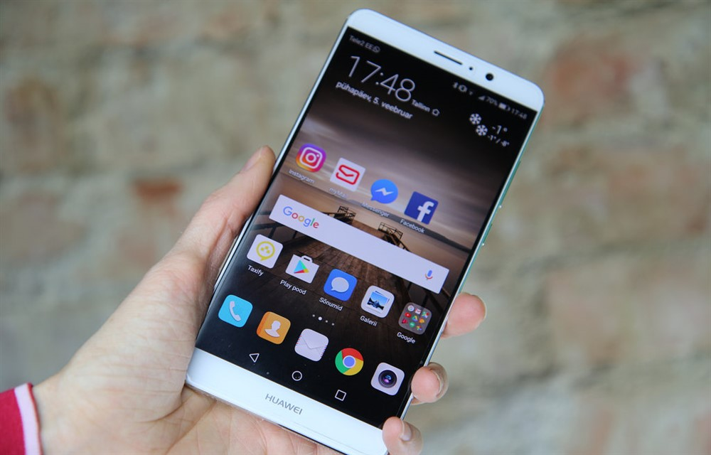 Huawei mate 9 loaded with android o test build surfaces