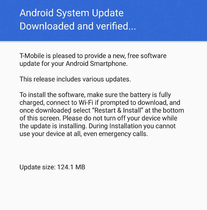 LG G6 Update Steps