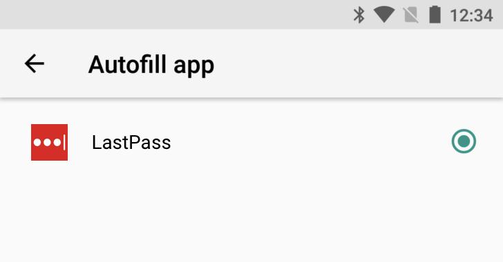 LastPass Autofill