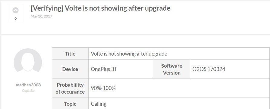OnePlus 3T Bug