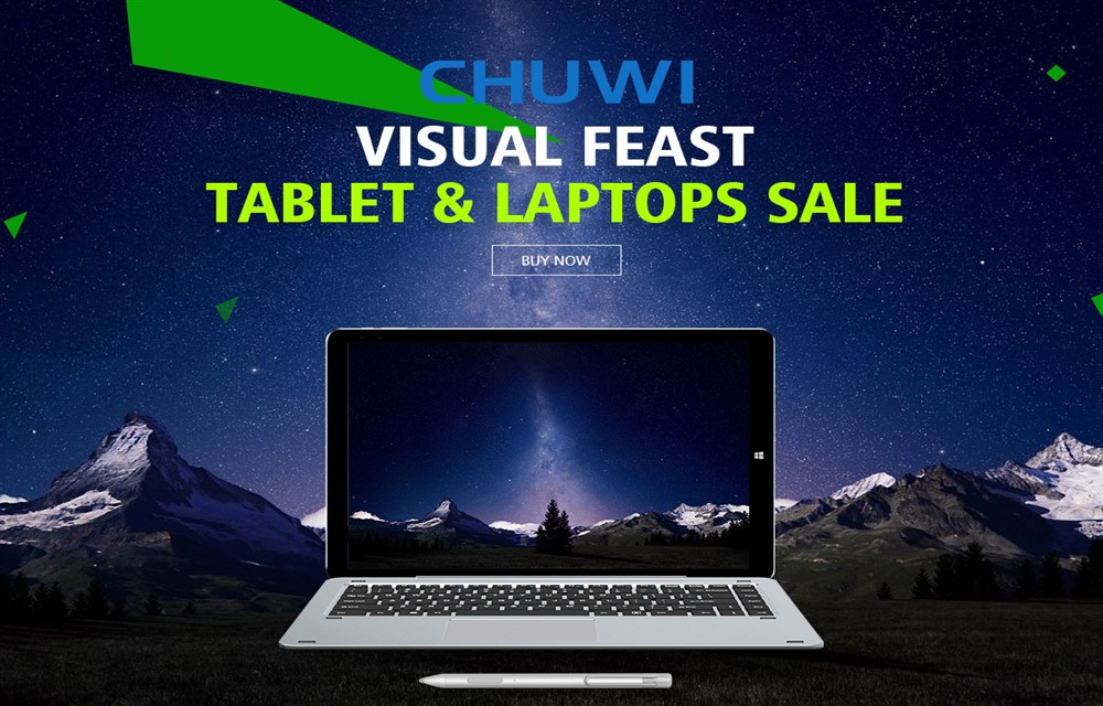 Chuwi Brand Sale on Geekbuying