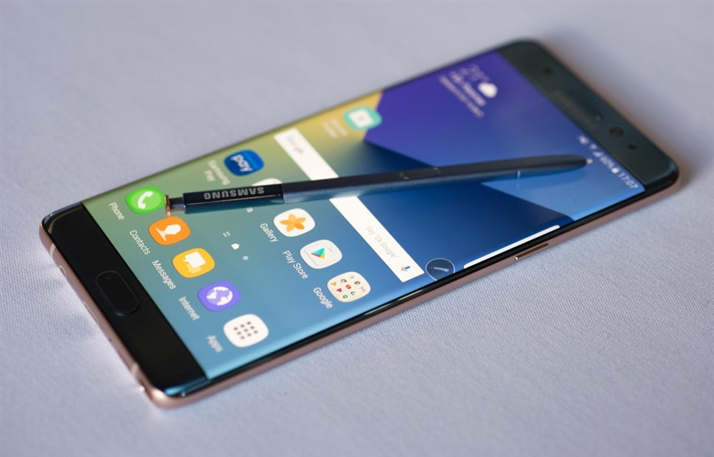 samsung galaxy note 8 enters testing exclusive