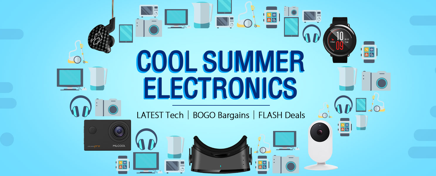 Gearbest Summer Sale $29.99