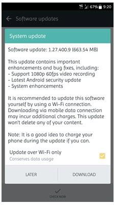 HTC U11 Update