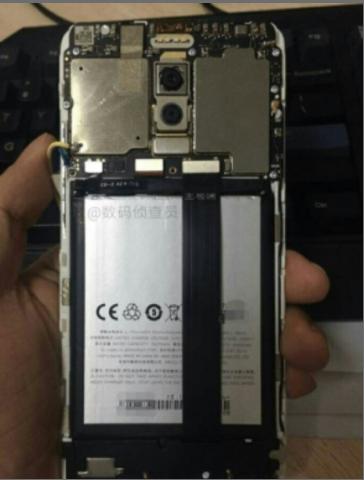 Meizu M6 Note Rear Side