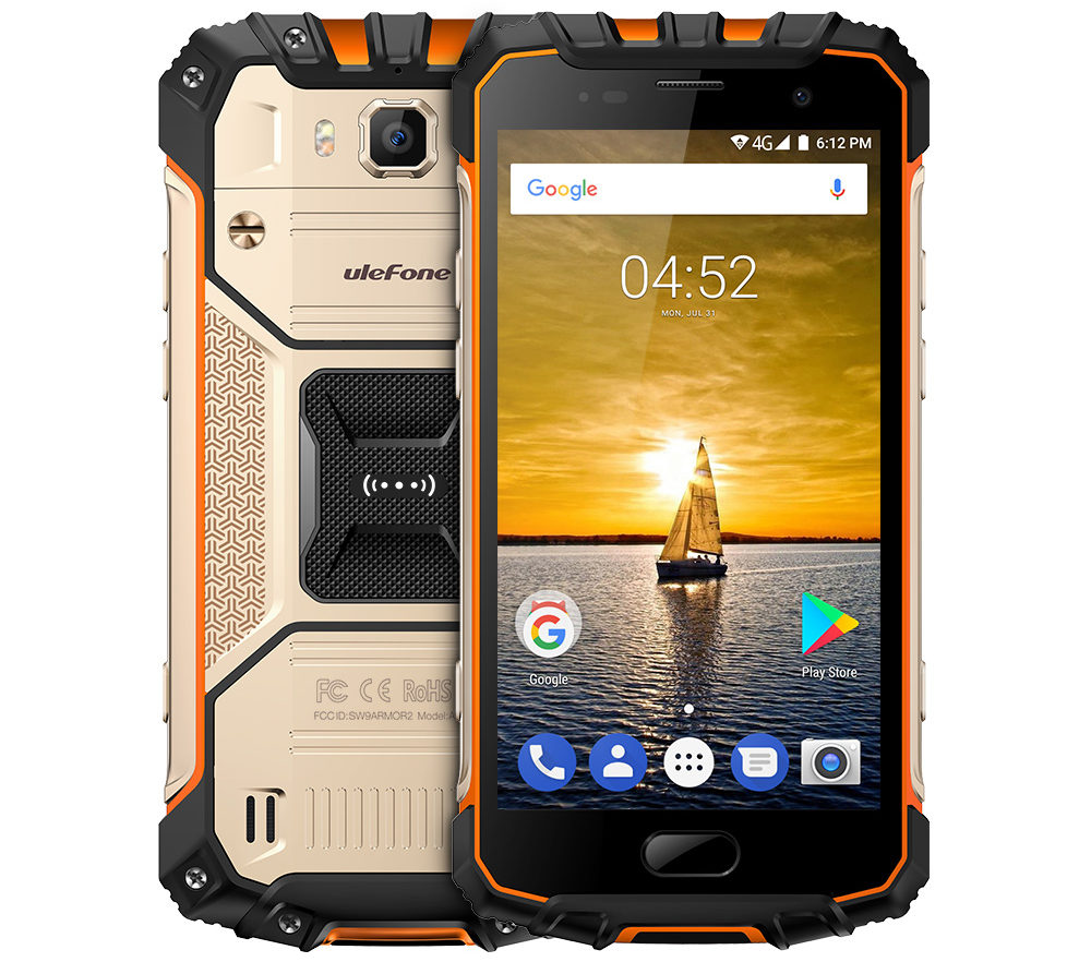Ulefone Armor 2 Rugged Smartphone With 6gb Ram Launched