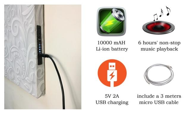 VisualSonic Battery