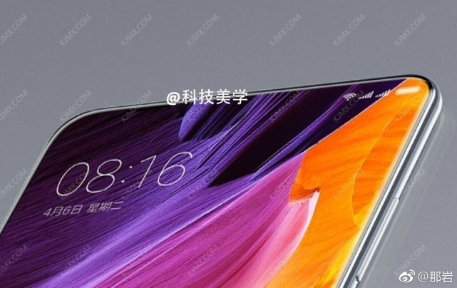 Xiaomi Mi Mix 2 Top Leak