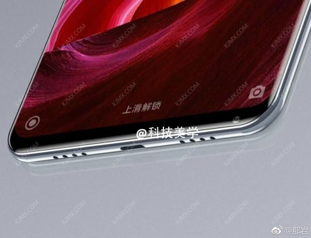 Xiaomi Mi Mix 2 bottom leak