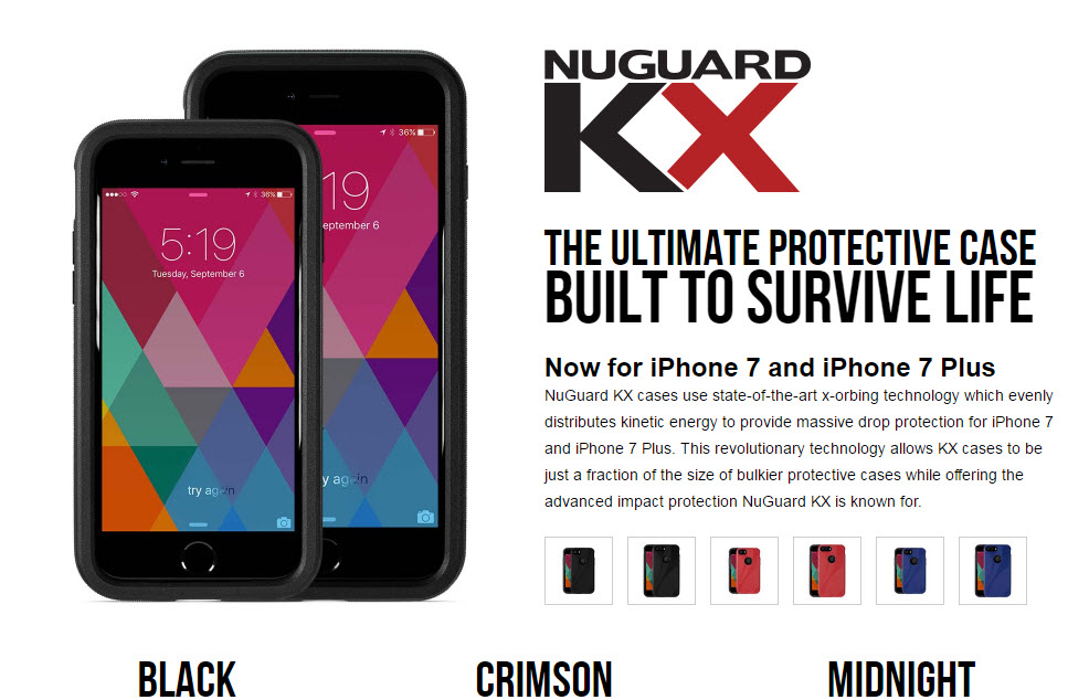 NewerTech NuGuard KX case