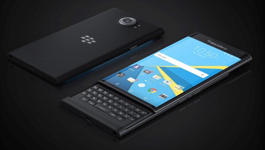 BlackBerry Priv beta