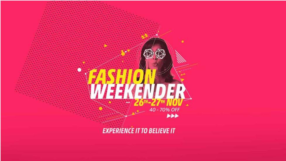 Myntra Fashion Weekender
