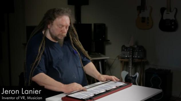 Jaron Lanier Inventor of VR Musician