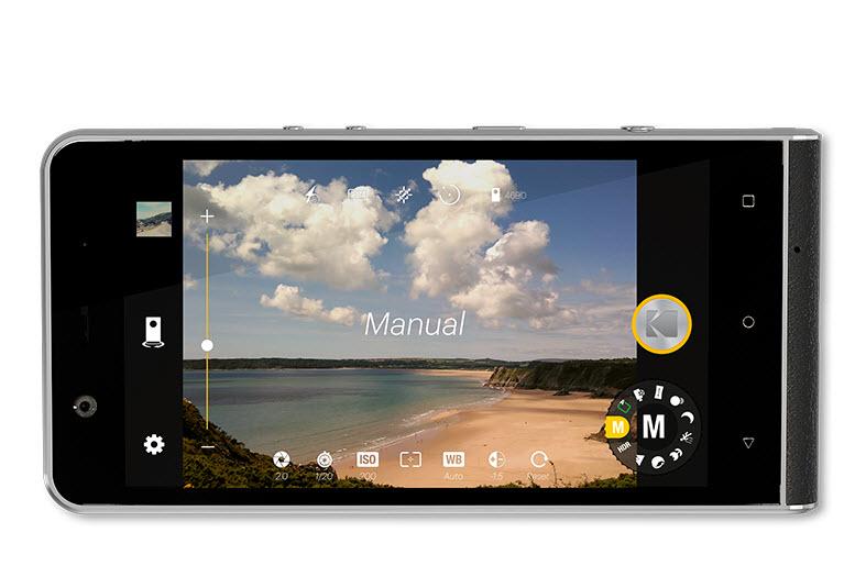 Kodak Ektra Android smartphone