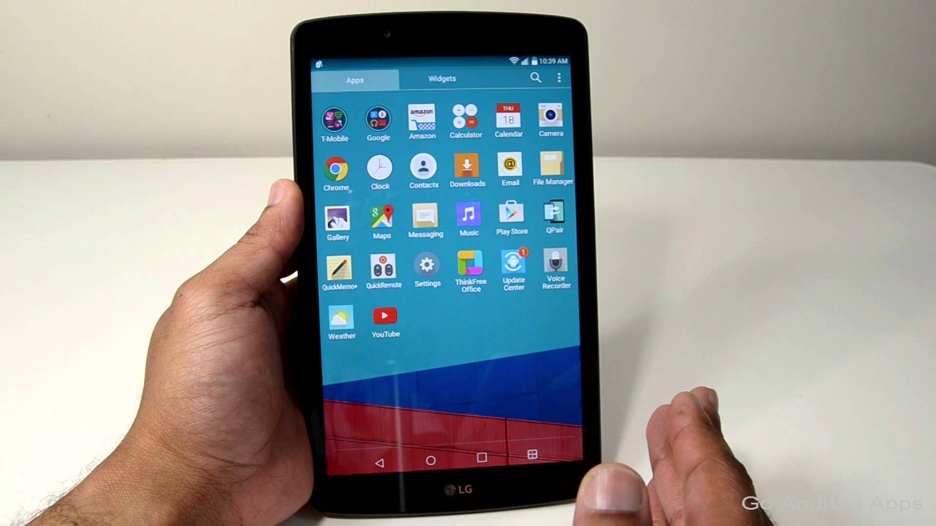 Lg G Pad Iii With 10 1 Inch Display And 5mp Front Camera