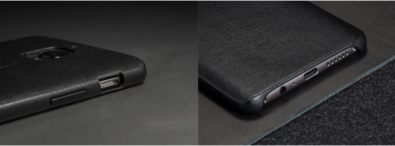 OnePlus Textured leather case