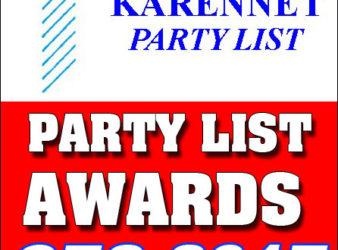KarenNet Party List Awards