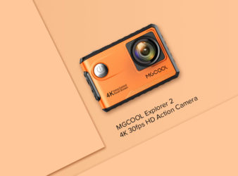 MGCOOL 4K 30fps HD action camera