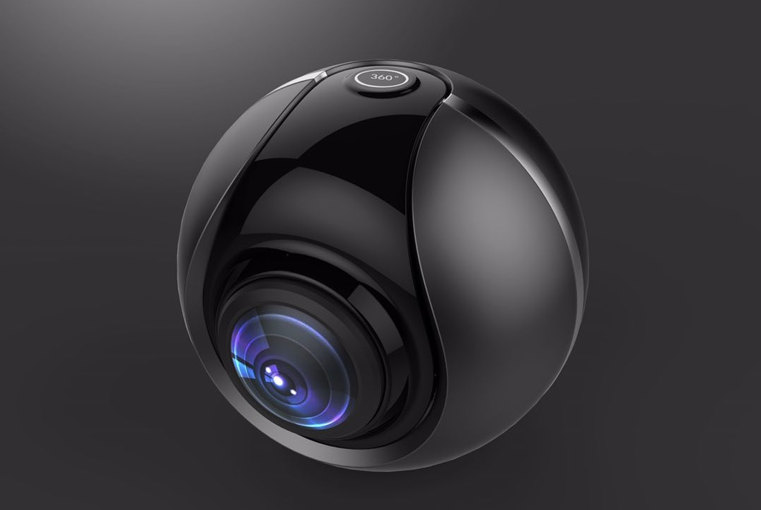 Elephone dual 360-degree panoramic camera