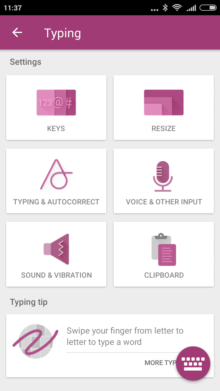 SwiftKey for Android