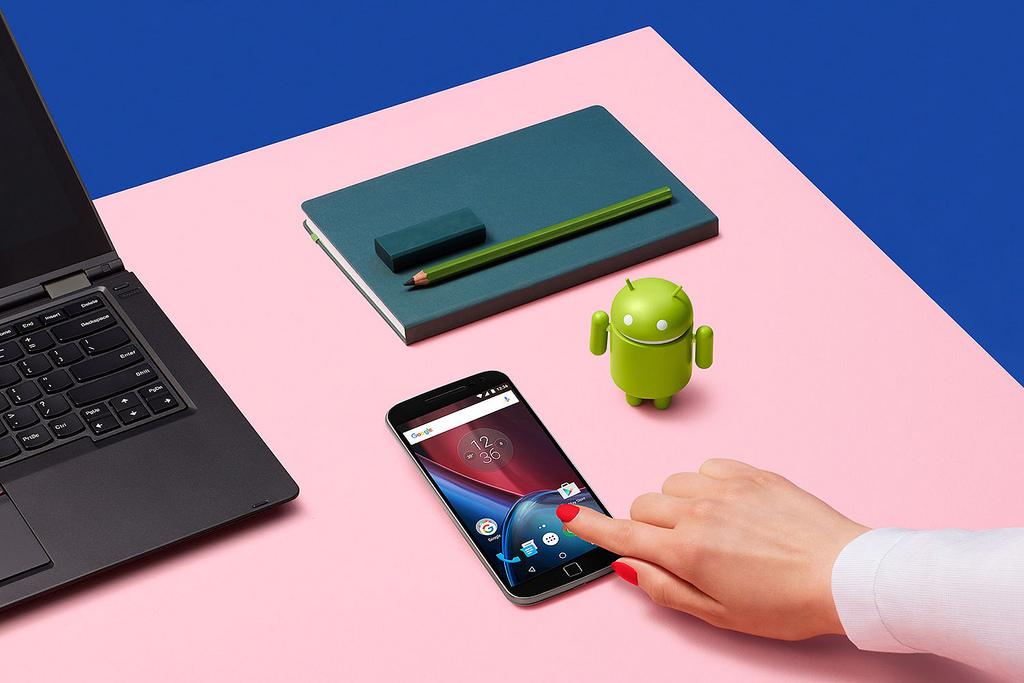 Moto G4 Plus Android 7.1.1 Nougat