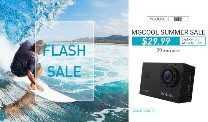 Gearbest Summer Sale: MGCOOL Explorer Pro at unbeatable price via flash sale
