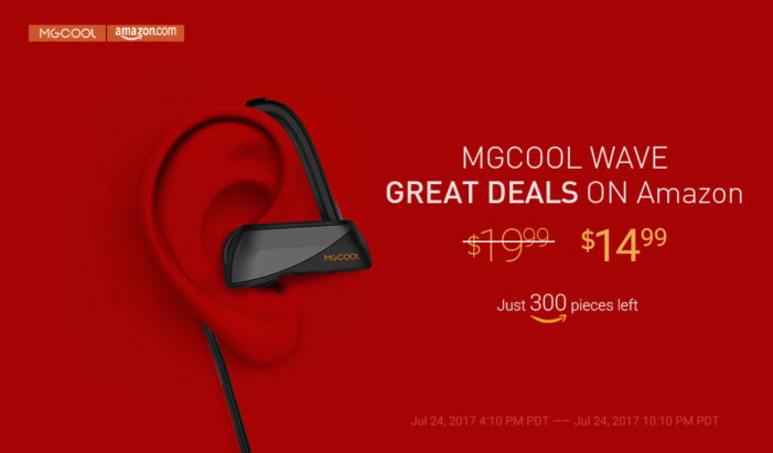 Grab MGCOOL Wave on Amazon at stunning price $14.99 on July 24 [Deal]