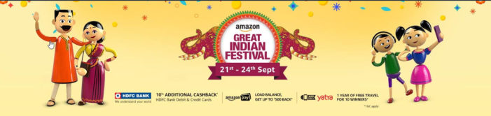 Amazon Great Indian Festival: Exciting Deals On Apple iPad, Dell Laptop & Accessories