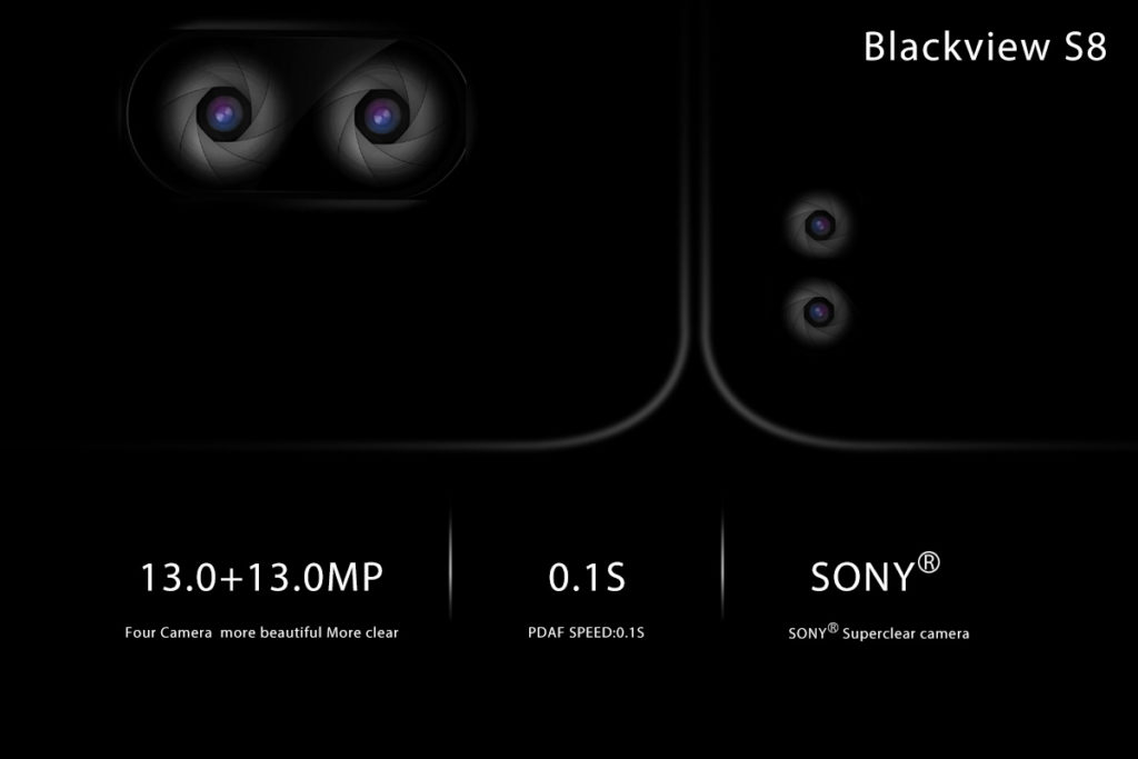 Blackview S8 Features