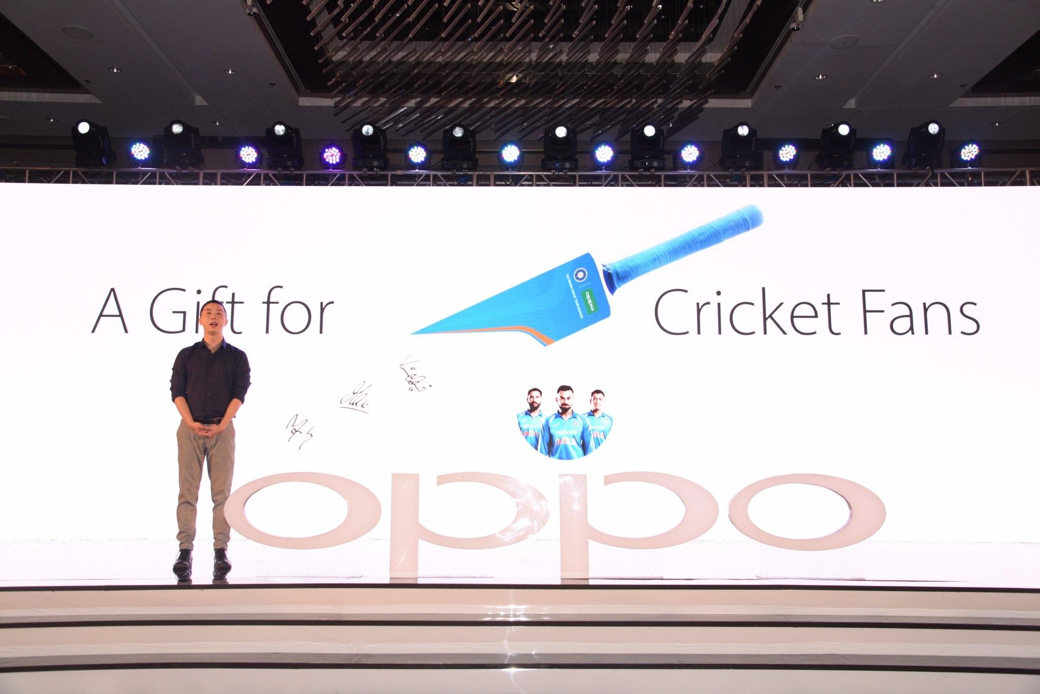 Oppo F3 Diwali Limited Edition Cricket Bat