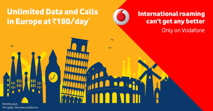 Vodafone Launches First-Ever Truly Unlimited International Roaming Plan Across UK & Europe