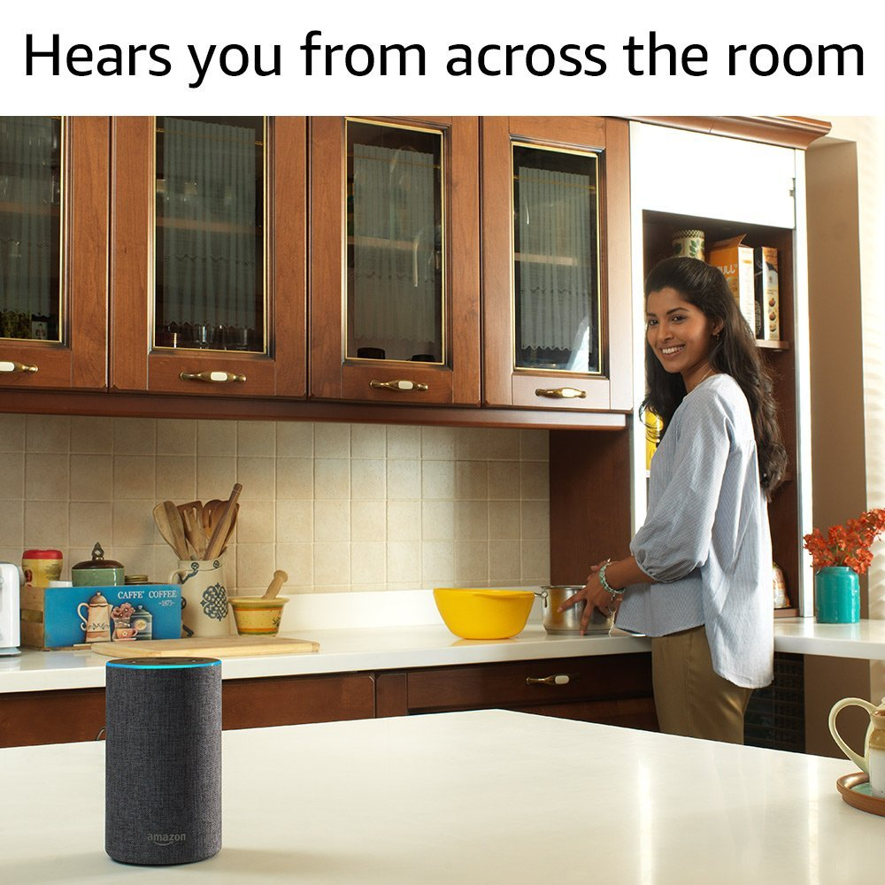 Amazon Echo Far Field Recognition