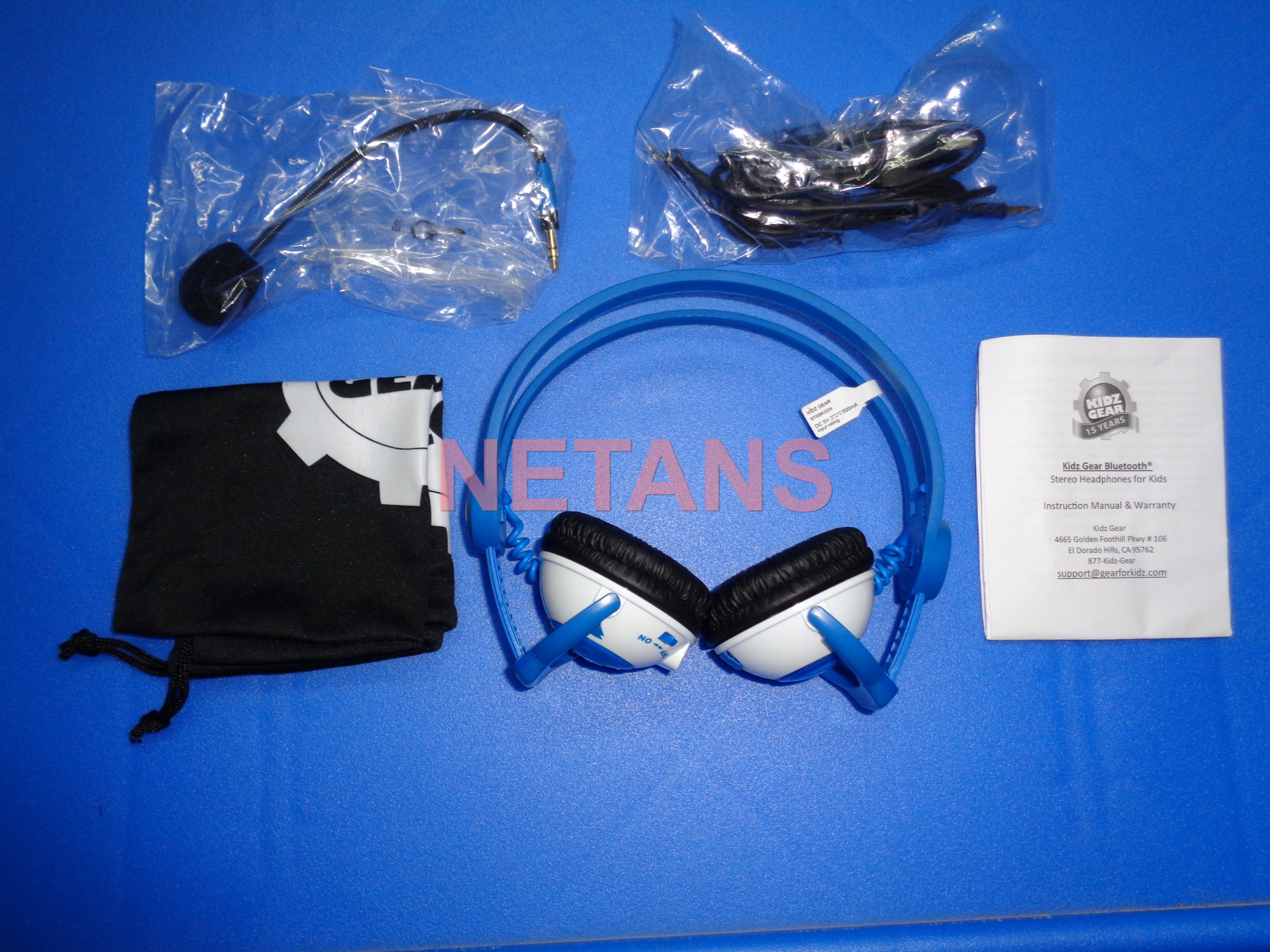 Kidz Gear Bluetooth Headphone Unboxing Snapshot