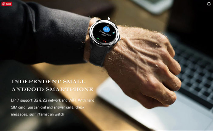 Grab LEMFO LF17 Smartwatch For Below $70 On CAFAGO [Coupon]