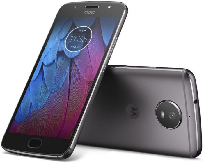 Moto G5S launched in Midnight Black color variant
