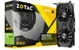 Nvidia GeForce GTX 1070 Ti Zotac