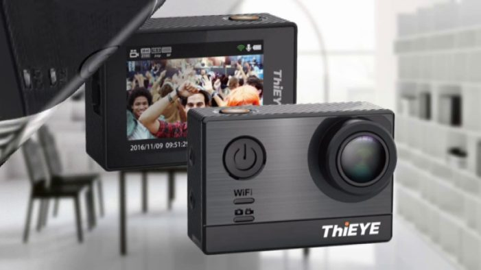 Geekbuying Exclusive Sale: Grab Original Thieye T5e WiFi 4K Action Camera Today (Coupon)