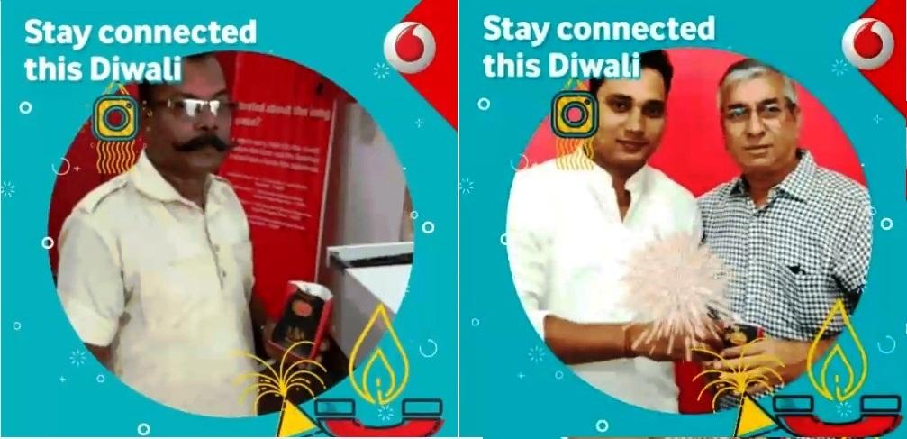 Vodafone Green Diwali
