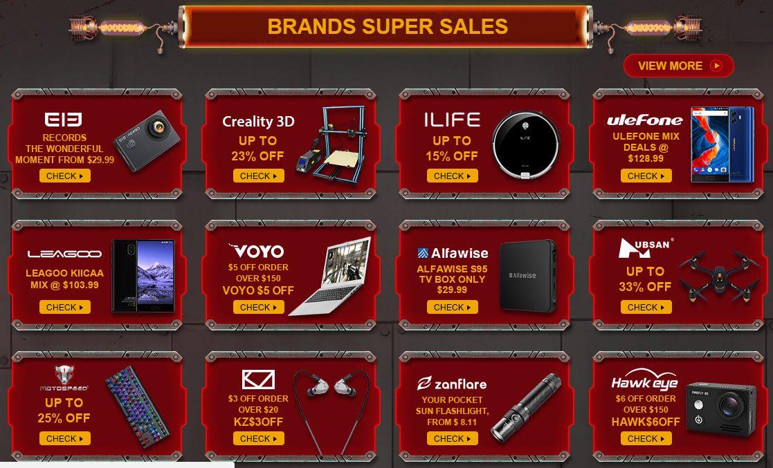 Black Friday Brand Super Sales