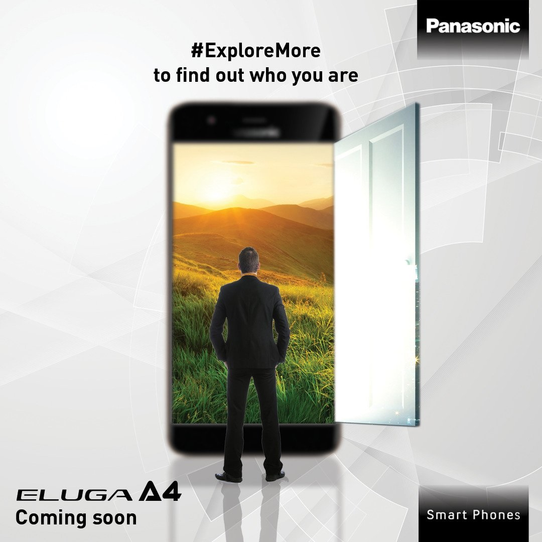 Panasonic Eluga A4 Launched with large 5000mAh Battery at Rs.12490