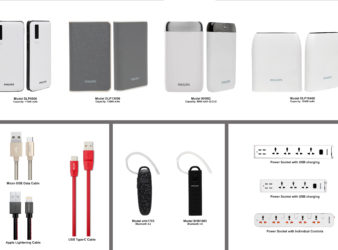 Philips Accessories Collage