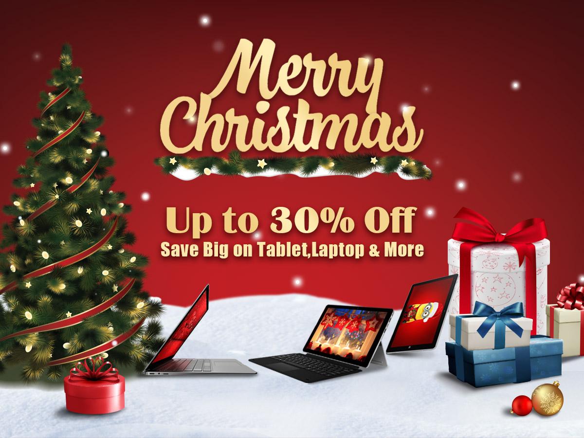Christmas Gift Ideas: Big Savings on Chuwi Laptops and Tablets