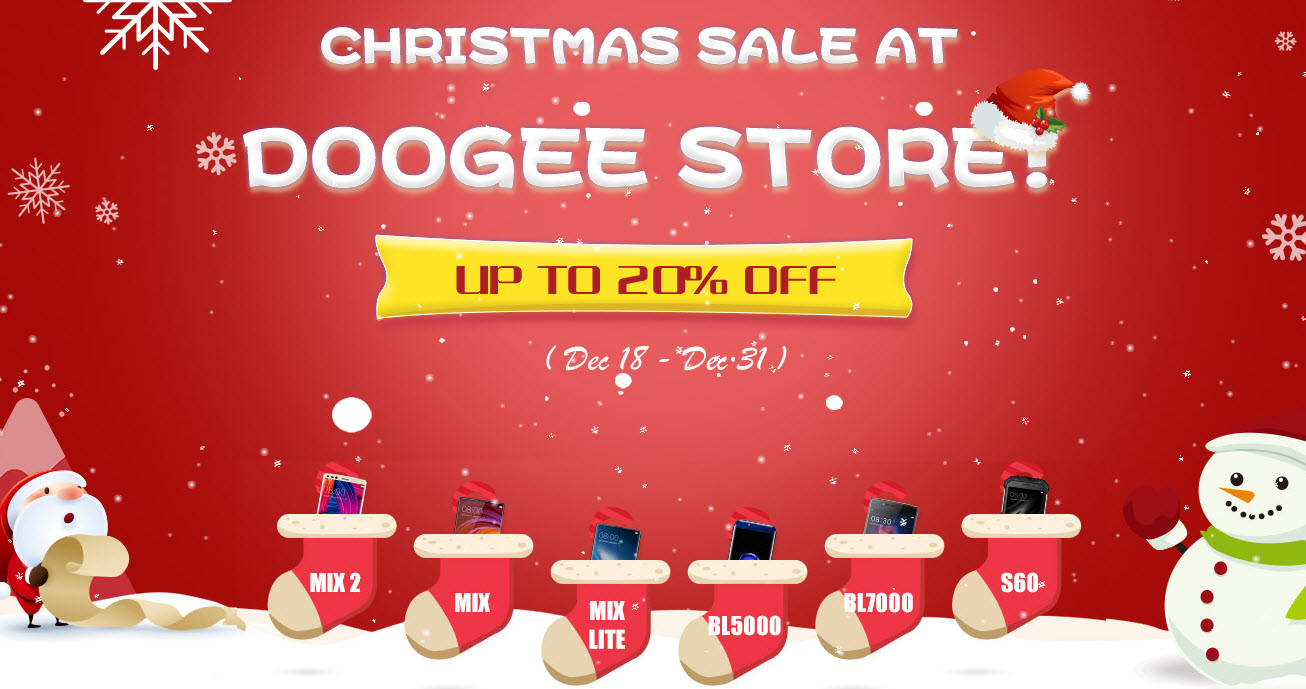 DOOGEE Christmas Sale