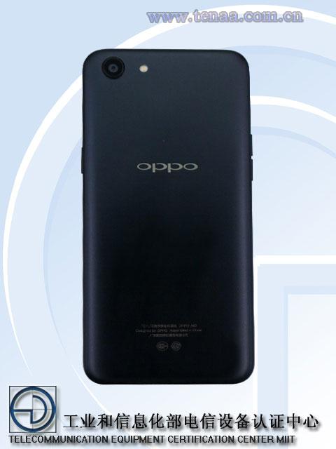 Oppo A83 rear